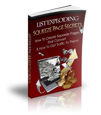 Product picture List Exploding Squeeze Page Secrets
